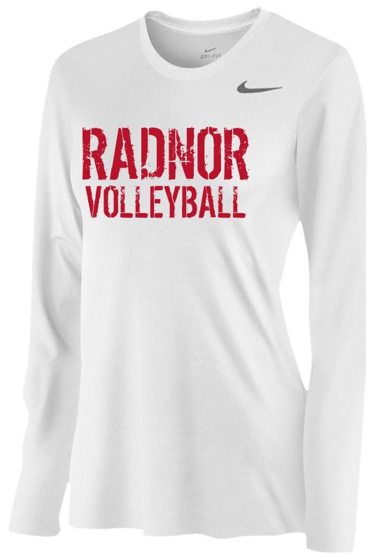 4a29d3e30e RGV Nike Team Legend Women's Long Sleeve T-Shirt - Radnor Girls ...